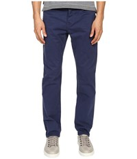Jack Spade Stonehill Slim Fit Five Pocket Trousers Insignia Blue Men's Casual Pants