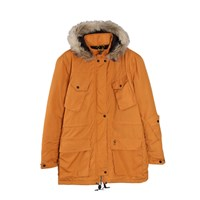 Roamers And Seekers Explore Orange Padded Parka Yellow Orange
