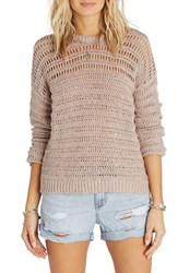 Billabong Women's Don't Look Back Mixed Stitch Pullover