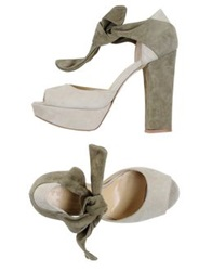 Twin Set Simona Barbieri Sandals Beige