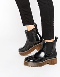 Monki Chunky Worker Boot Black