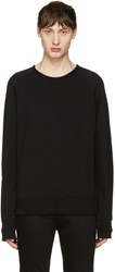 Rag And Bone Black Standard Issue Pullover