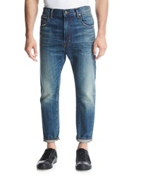 Vince Relaxed Straight Leg Jeans Blue
