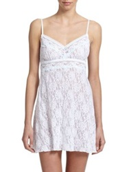 Hanky Panky Annabelle Lace Bridal Chemise White Multi