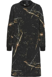 By Malene Birger Ofelian Marble Print Silk Crepe Dress