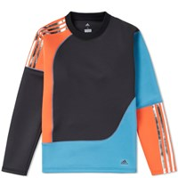 Adidas Consortium X Kolor Spacer Crew Sweat Orange