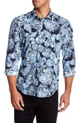 Ganesh Long Sleeve Floral Print Shirt Multi