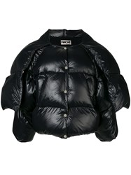 Hache Cropped Puffer Jacket Black
