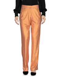 Atos Lombardini Casual Pants Orange