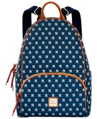 Dooney And Bourke New York Yankees Signature Backpack Navy