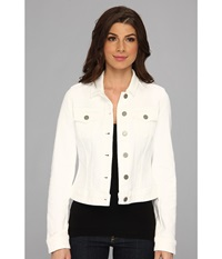 Paige Vermont Jacket In Optic White Optic White Women's Coat