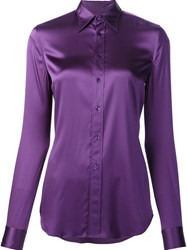 Ralph Lauren Classic Shirt Pink Purple