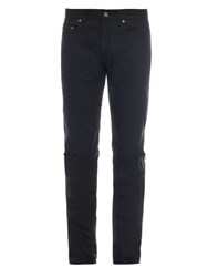 Saint Laurent Low Rise Skinny Fit Jeans Black