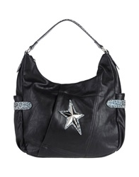 Thierry Mugler Large Fabric Bags Black