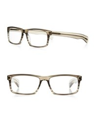 Eyebobs Im Right 44 56Mm Square Reading Glasses Grey
