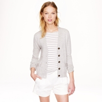 J.Crew Merino Wool V Neck Cardigan Sweater