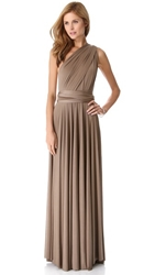 Twobirds Convertible Maxi Dress Mushroom