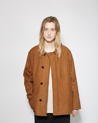 Chimala Quilted Tankers Jacket Cognac