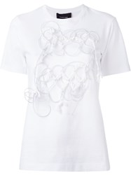 Simone Rocha Wires Applique T Shirt White