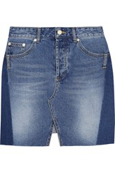Sjyp Steve J And Yoni P Denim Mini Skirt Mid Denim