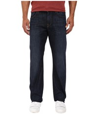 7 For All Mankind Austyn Relaxed Straight Leg In Manchester Fields Manchester Fields Men's Jeans Blue