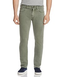 Paige Federal Slim Fit Jeans In Green House