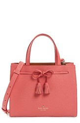 Kate Spade New York Hayes Street Small Isobel Leather Satchel Red Warm Guava
