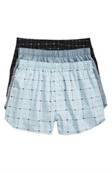 Lacoste 3 Pack Cotton Boxers Omphalodes Arona Black