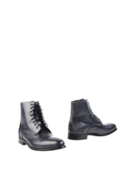 Alexander Hotto Ankle Boots Steel Grey