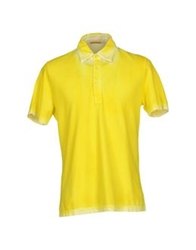 Robert Friedman Polo Shirts Yellow