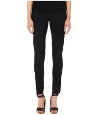 Neil Barrett Articulated Knee Legging Fit Light Crepe Stretch Trousers Black