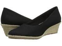 Fitzwell Port Black Solid Fabric Women's Shoes