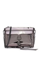 Rebecca Minkoff Mini Mac Cross Body Bag Nickel
