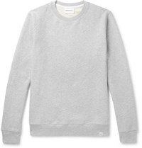 Norse Projects Vagn Loopback Cotton Jersey Sweatshirt Gray