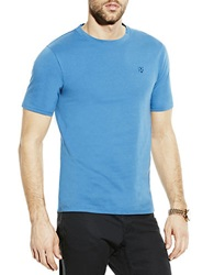 Vince Camuto Slim Fit Crest Logo T Shirt Dark Blue