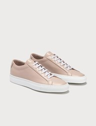 Common Projects Achilles Low White Sole Pink