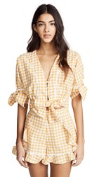 The Fifth Label Idyllic Top Buttercup With White