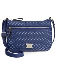 Styleandco. Style And Co. Passport Perforated Crossbody Only At Macy's
