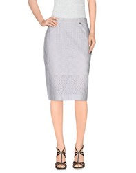 Gattinoni Skirts Knee Length Skirts Women White