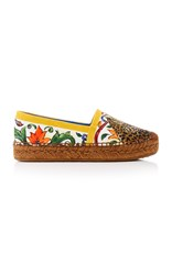 Dolce And Gabbana Printed Espadrilles Multi