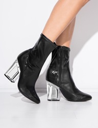 Pixie Market Jeffrey Campbell Leather Figment Boots