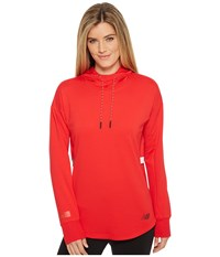 New Balance Nb Athletic Pullover Cerise Sweatshirt Red