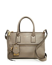 Marc Jacobs Recruit East West Leather Tote Mink Gold