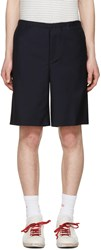Acne Studios Navy Ari Shorts