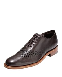 Cole Haan Washington Grand Laser Wing Tip Oxford Chestnut