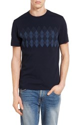 Original Penguin Men's Argyle Print T Shirt