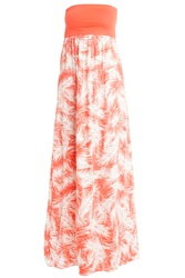 Splendid Palm Print Dress