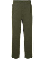 Tomorrowland Slim Fit Track Trousers Green