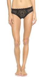 Natori Feathers Hipster Black