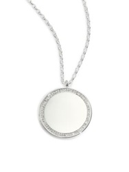 Astley Clarke Cosmos Diamond And Sterling Silver Large Locket Necklace